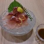 満寿家 - 鯉のあらい