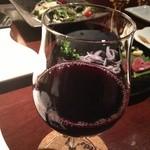 炭火焼鳥Birds'Bar - 焼きとりには赤ワイン♪