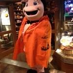 ババ・ガンプ・シュリンプ - ルイ君もハロウィン仮装で皆様をお待ちしております☆