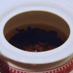 フォション・サロン・ド・テ - 茶葉はOP程度の大きさですw