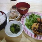 あゆか - コロッケ定食