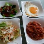 ふる里 - (2013年9月再訪①)前菜が4品に増えていた!