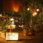 MLB Cafe Tokyo - テラス席