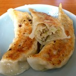 中華レストラン太郎 - 中華レストラン太郎 @中葛西 豚挽肉多めの餃子