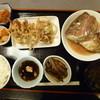 たか丸 - 料理写真:イカかき揚げ鯛かぶと煮あなご煮¥650