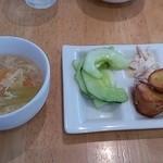 樹の香 JEU AU CAFE - 惣菜無料バイキングとスープ