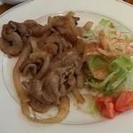 樹の香 JEU AU CAFE - 「豚肉のしょうが焼き」ランチ 780円