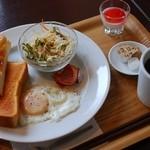 カフェ・ド・イーグル - 料理写真:モーニングB