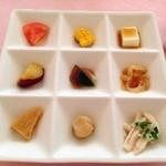 西村 - 前菜9種