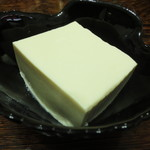 伊勢屋豆腐店 - 絹こし豆腐は、冷奴で・・・。