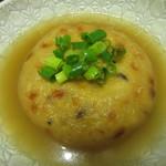 伊勢屋豆腐店 - 飛龍頭は、出汁で煮て・・・。