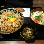 海人酒房 - スタミナ丼セット