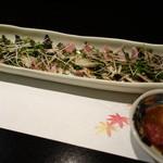 胡魯 - 新さんまの炙り 肝正油で、750円