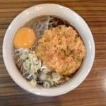 たばた食堂 - 料理写真:天たまそば:500円(税込)【2013年9月撮影】