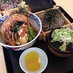 そば太郎 - 今日の昼!道の駅の食堂だからっつって甘く見てたぜ。んまーい( ̄Д ̄)ノ