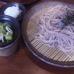 信州蓼科 麺 - ざるおろしそば(450円)(2013.9現在)
