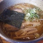 信州蓼科 麺 - 和風ラーメン(450円)(2013.9現在)