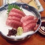 海味 魚がし - 130724塩釜産生まぐろ刺380円