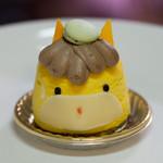 西洋菓子 くわの実 - 料理写真:ぐんまちゃんケーキ