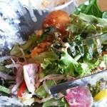 カフェゴーサンブランチ - サラダボウル 食べかけですが…(^-^