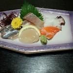 うま味家翔次郎 - 晩酌コース(お刺身盛り合わせ)