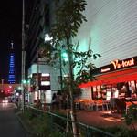 21558297 - 東京タワーとテラス→
