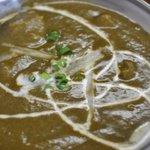 インド・ネパール料理 ヒマラヤ - ●09.08.29:ほうれん草の鶏肉カレー