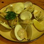 松美屋 - 大あさりのバター焼き