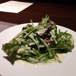 北新地 福多亭 - こだわり有機野菜のサラダ