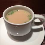 北新地 福多亭 - 牛骨スープ