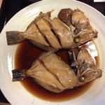 21562146 - 煮魚定食の煮魚 (カワハギ) 他にも日によって変わるが、メバルなど多数から選択できる