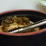 四川屋台 - 美味しいザーサイ