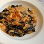 Waina - 天然ホタテの貝柱とジャガイモのトマトクリーム