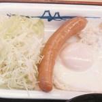松屋 - ソーセージエッグ