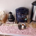 志ち乃 - お茶のサービス