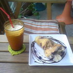 NAP CAFE - シェイクとスペシャルクレープ