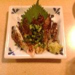 居酒屋 かえる - 秋刀魚炙り