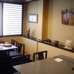第三春美鮨 - 一階はカウンタ 二階にテーブルがありましたん