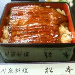 松本 - 料理写真:上うな重