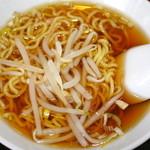 喜多八菜館 - セットのミニラーメン