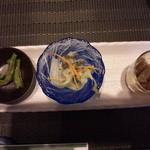 松臣 - 料理写真:前菜3種