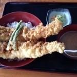漁師料理 かなや - 大穴子天丼