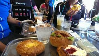 ガーデン - モンブランのパンも、このほかのカフェも美味しかった