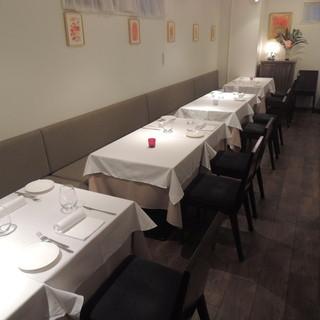 パーティーやご会食にも当店をご利用ください。立食では40名様までご利用可能です。