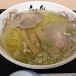 らーめん 六花 - 「函館塩ら〜めん」693円