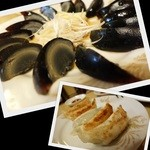Miga - 焼き餃子&ピータンで一杯