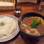 メープル リーフ - ホタテのスープカレー