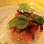 レストラン サンパウ - トマトスイカサンマ