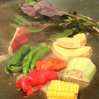 野菜ソムリエがプロデュースする美味しいお野菜料理♪