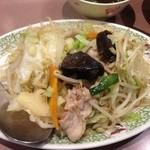 志成園 - 野菜炒め 480円